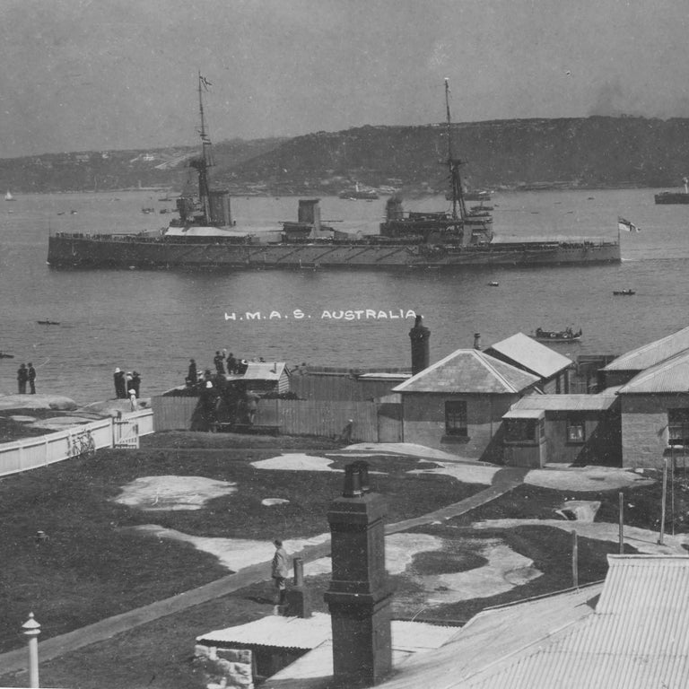 Panoramic Photograph of the Arrival of the Australian Fleet in Sydney, 1913 For Sale 1