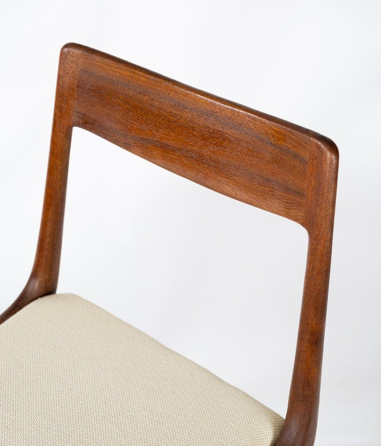 Danish Papir of Dining Chairs, Model Boomerang, by Alfred Christensen, 1960s For Sale