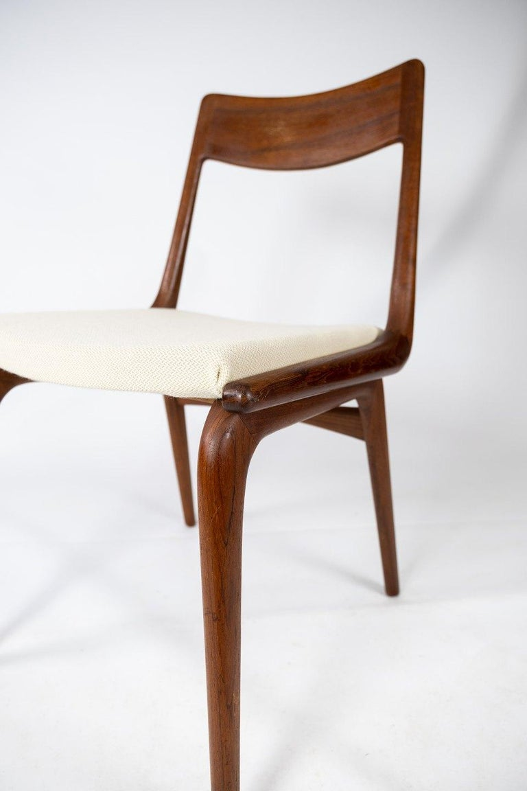 Mid-20th Century Papir of Dining Chairs, Model Boomerang, by Alfred Christensen, 1960s For Sale