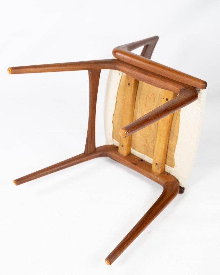 Papir of Dining Chairs, Model Boomerang, by Alfred Christensen, 1960s For Sale 2