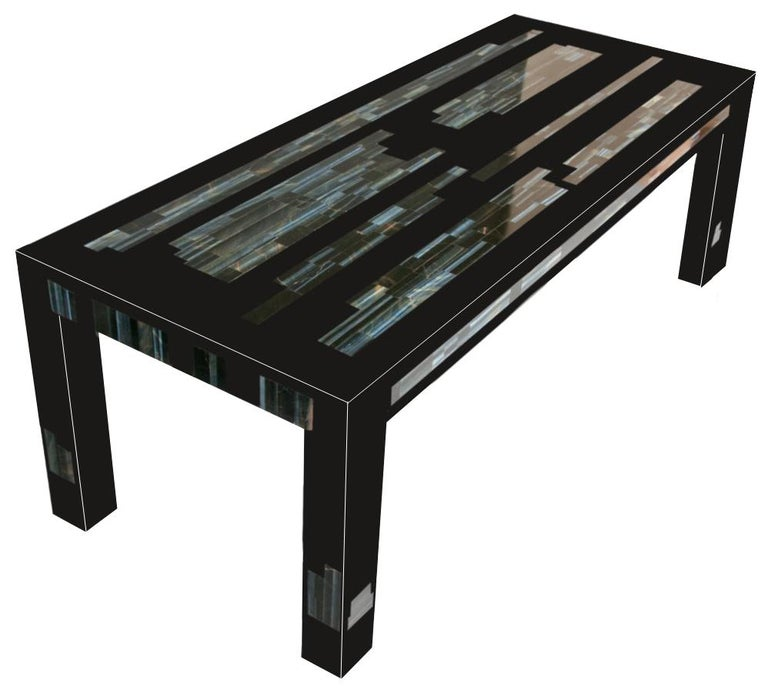 We designed this coffee table entitled