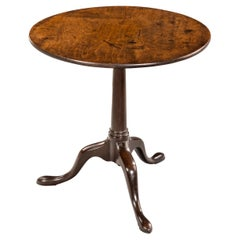 Particularly Good George III Period Mahogany Tilt Table
