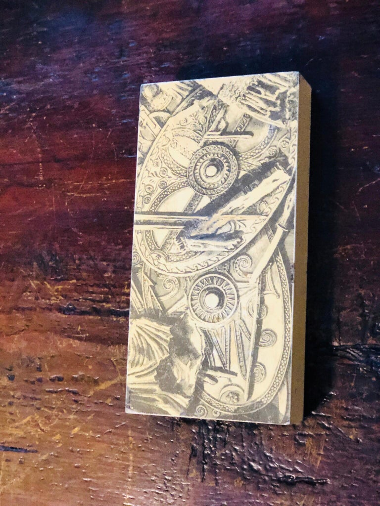 Piero Fornasetti Mid-Century Modern Italian Cigarette Box, 1950 For Sale 6