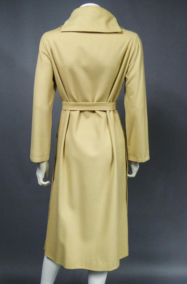 A Pierre Cardin Woollen Dress (attributed to) Circa 1980 For Sale 7