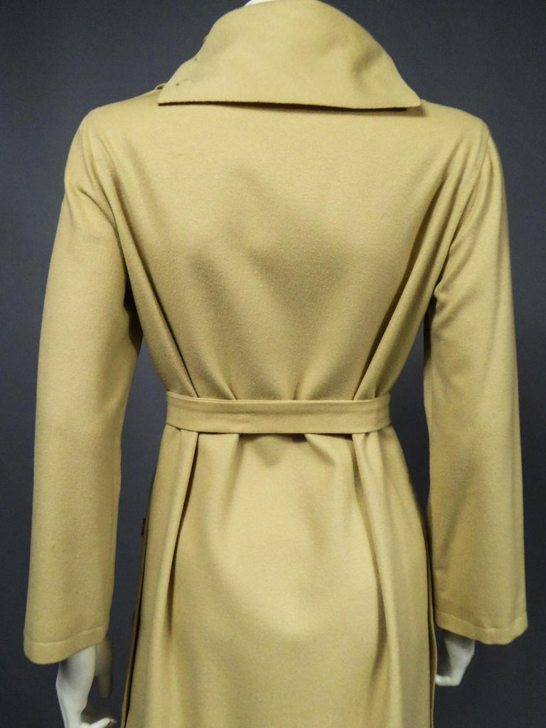 A Pierre Cardin Woollen Dress (attributed to) Circa 1980 For Sale 8