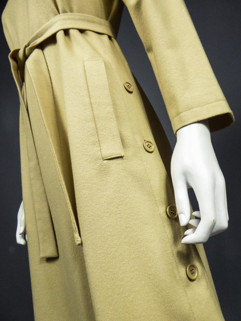 A Pierre Cardin Woollen Dress (attributed to) Circa 1980 For Sale 10