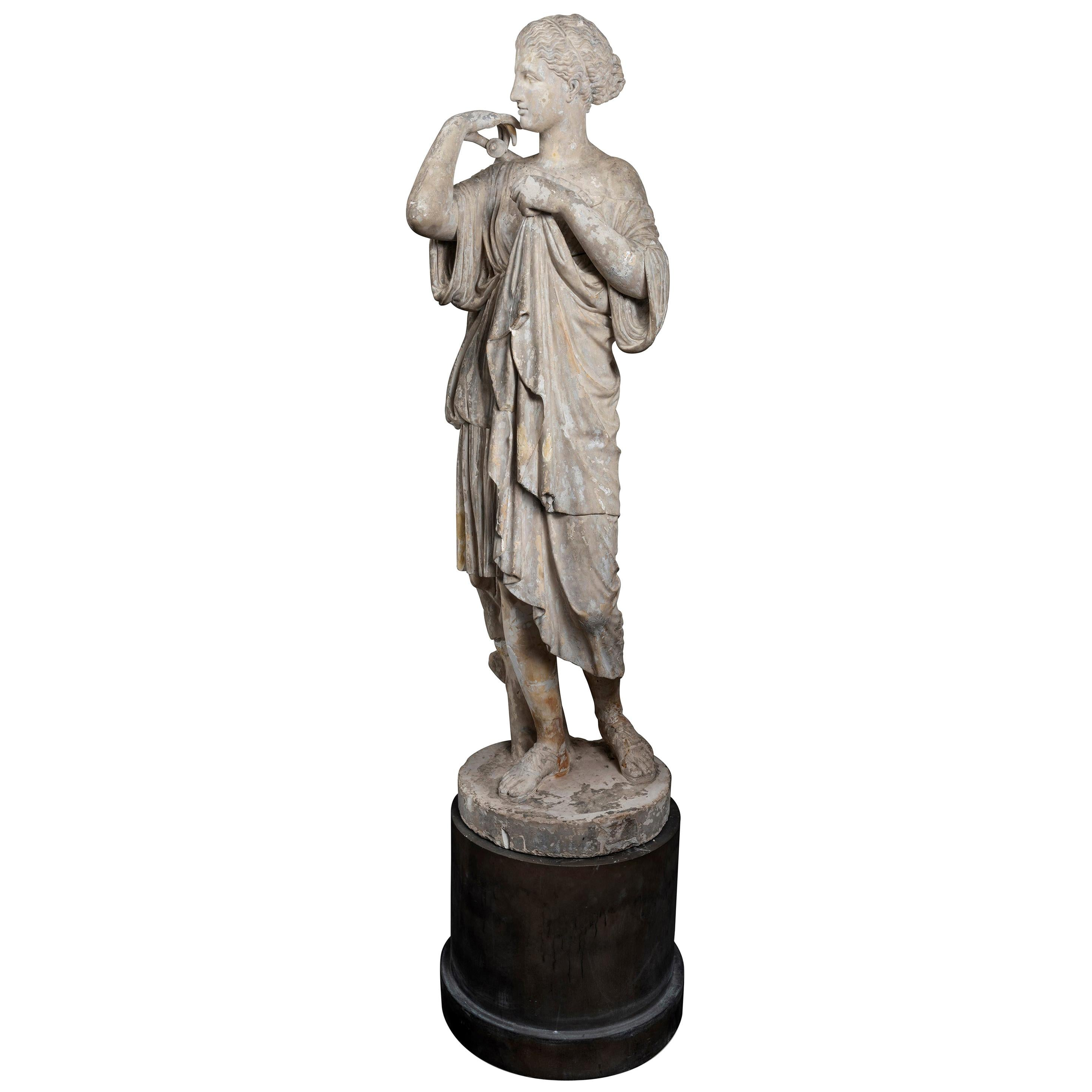 Plaster Cast of the Diana De Gabies, Early 19th Century