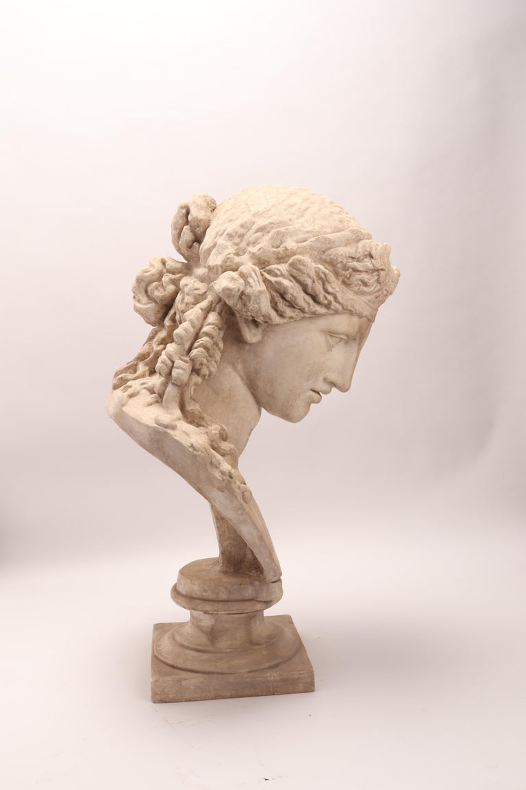 Plaster Cast the Head of Arianna, Italy, 1890 For Sale 1