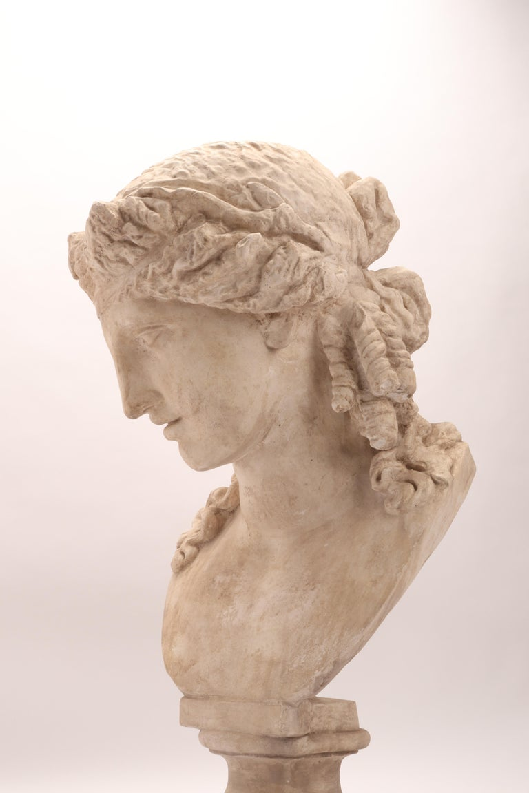Plaster Cast the Head of Arianna, Italy, 1890 For Sale 4