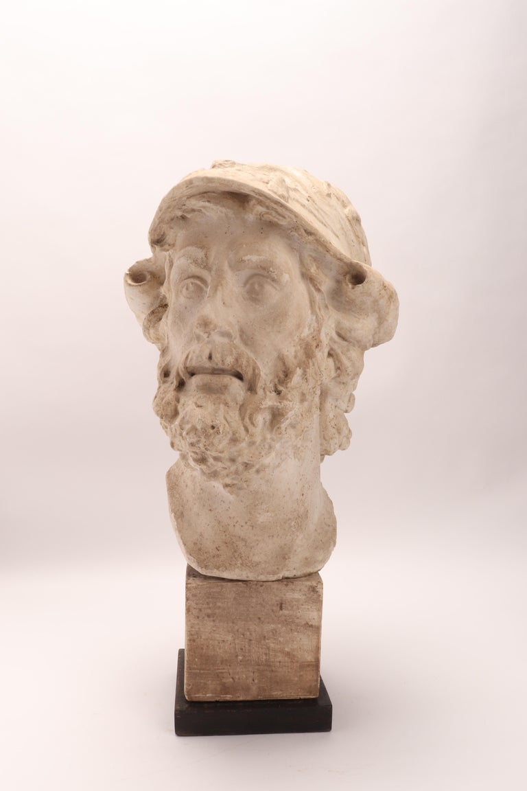 Plaster Cast: the Head of Menelao, Italy, 1890 For Sale 6