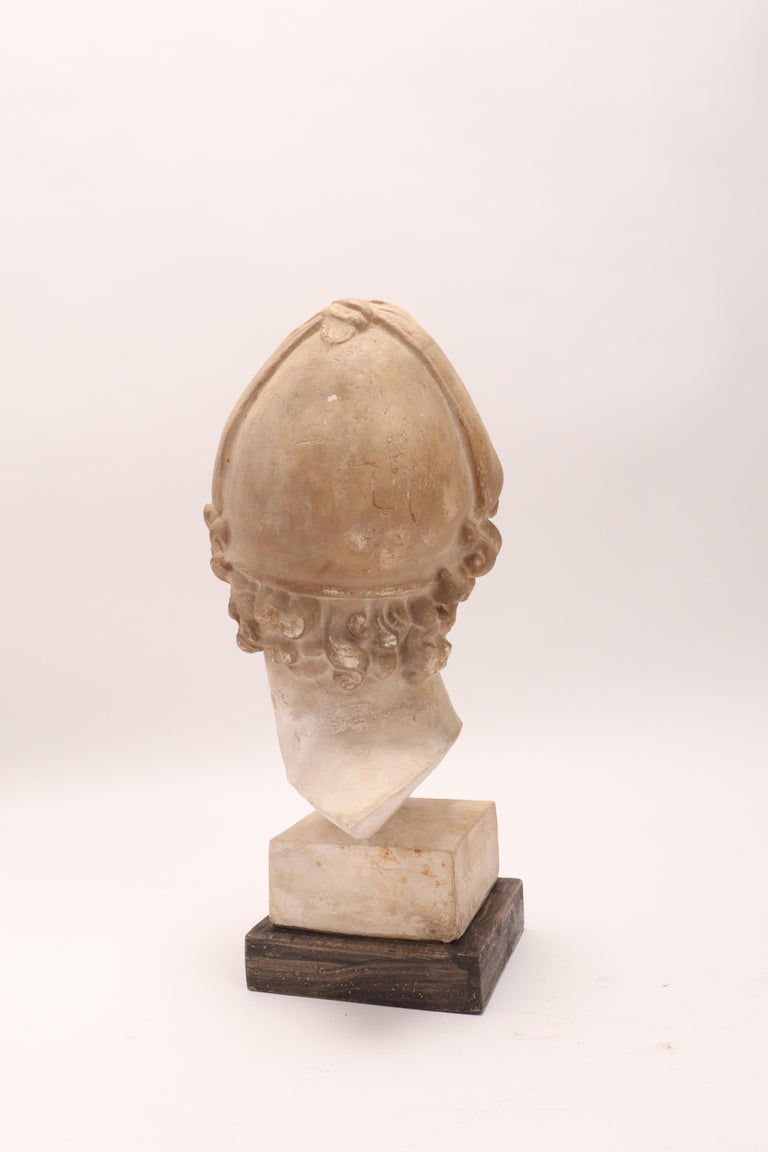 Plaster Cast: the Head of Paride, Italy, 1890 For Sale 1