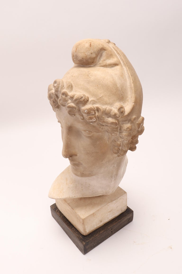 Plaster Cast: the Head of Paride, Italy, 1890 For Sale 4