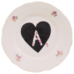 """""""A"""" plate dish"""