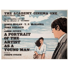A Portrait of the Artist as a Young Man 1977 Academy Cinema UK Quad Film Poster