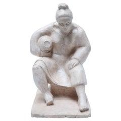 A. Pravosti Women Sculpture, circa 1956