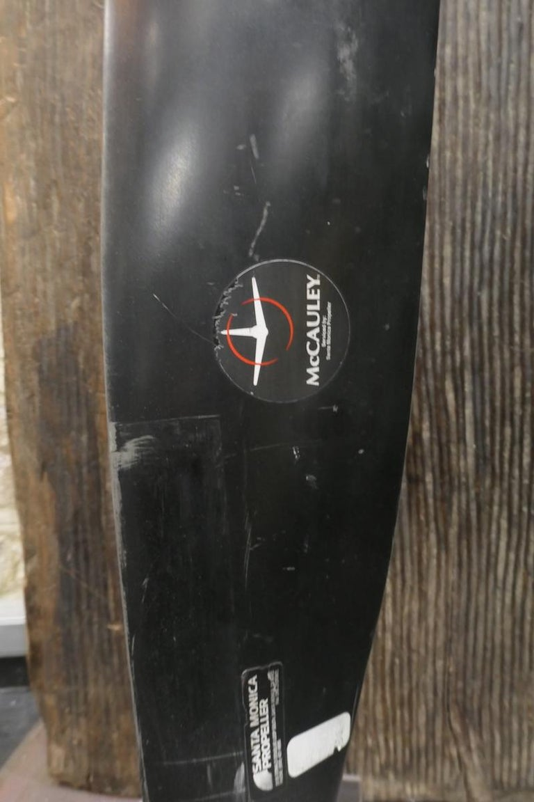 North American Propeller Blade Manufactured by McCauley For Sale