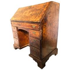 Quality 18th Century Walnut Bureau