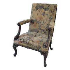 Rare American Gainsborough Chair