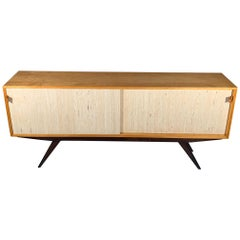 Rare and Fine Florence Knoll Cabinet, circa 1940s