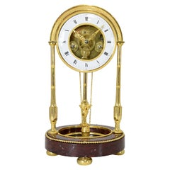 Rare Directoire Well Clock from the Late 18th Century