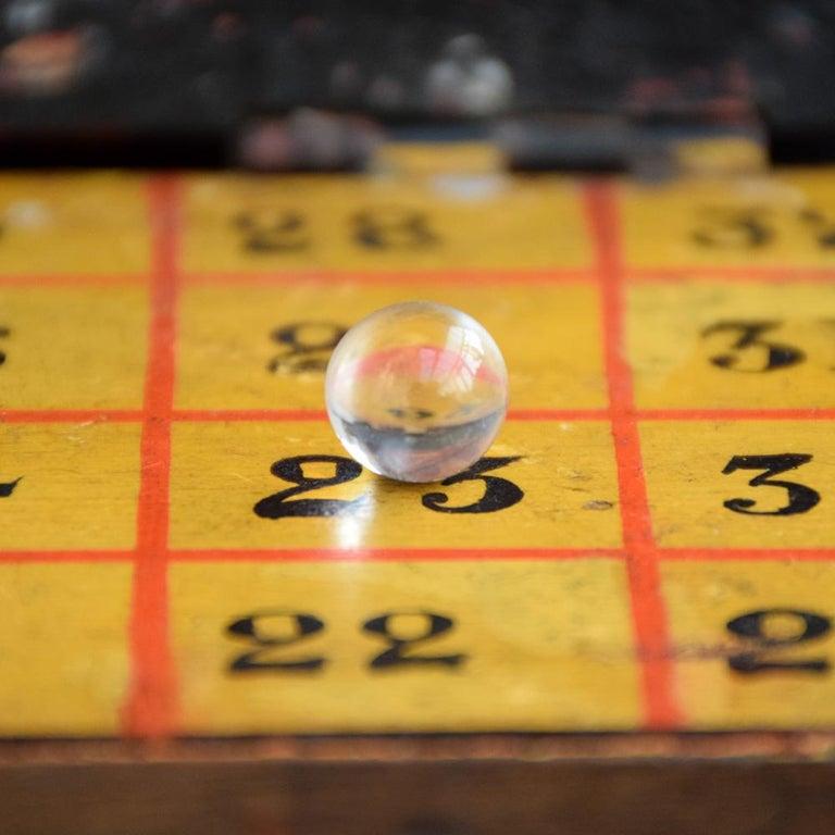 Rare Illegal Early 20th Century Folk Art English Gambling Roulette Bar Game 7