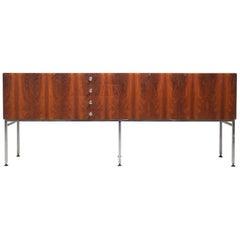 Rare Large Sideboard in Rosewood Alain Richard