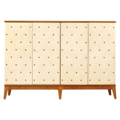Rare Large Otto Schulz Cabinet, Made by Boet, Sweden, 1940s