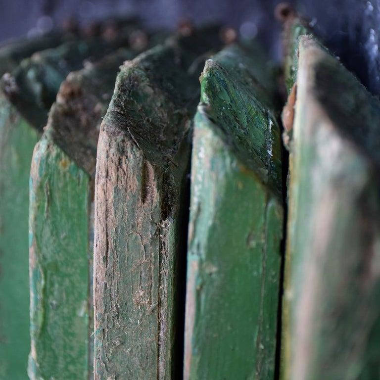 British Rare Set of 7 Mid-20th Century English Fairground Carousel Panels For Sale