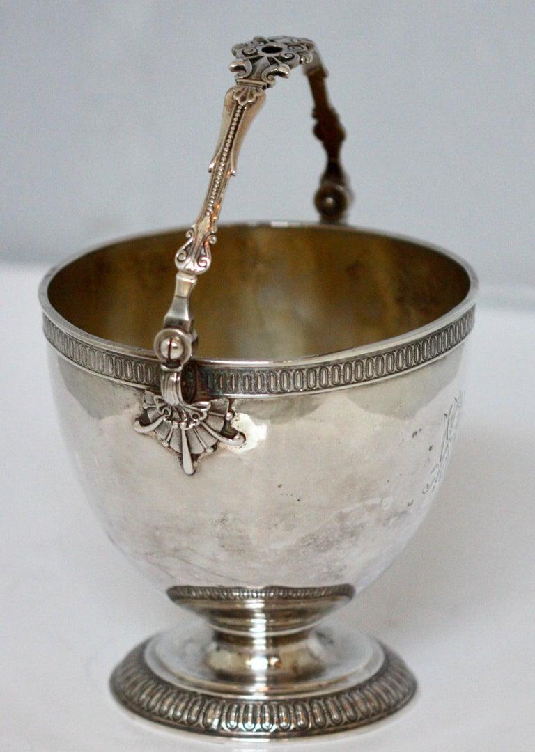 Rare Tiffany & Co. Sterling Silver Sugar Bowl In Good Condition For Sale In Palm Beach, FL