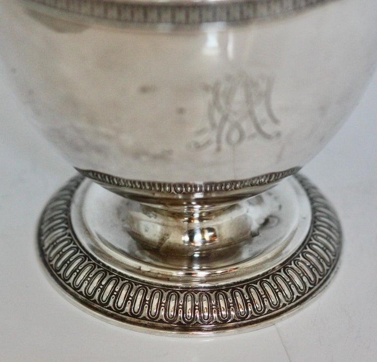 Rare Tiffany & Co. Sterling Silver Sugar Bowl For Sale 1