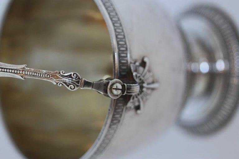 Rare Tiffany & Co. Sterling Silver Sugar Bowl For Sale 2