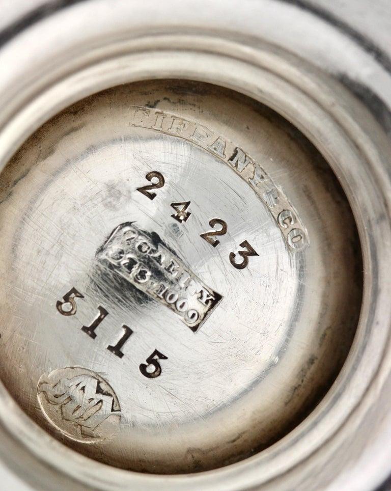 Rare Tiffany & Co. Sterling Silver Sugar Bowl For Sale 4
