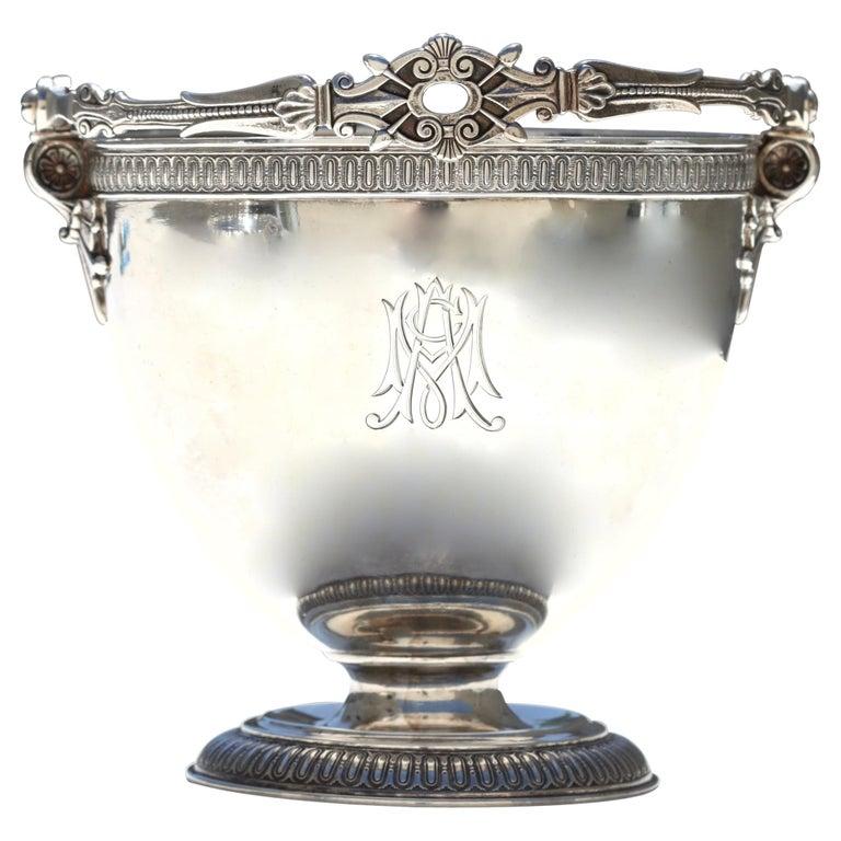 Rare Tiffany & Co. Sterling Silver Sugar Bowl For Sale
