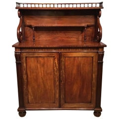 Regency Period Mahogany Antique Chiffonier Possibly by Gillows of Lancaster