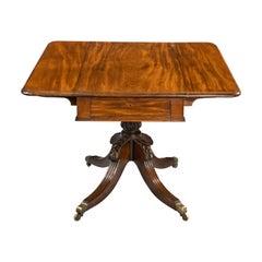 Regency Period Mahogany Pembroke Table