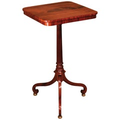 Regency Period Occasional Tripod Table