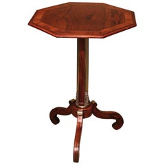 Regency Period Rosewood Octagonal Occasional Table