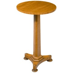 Regency Period Satinwood Occasional Table
