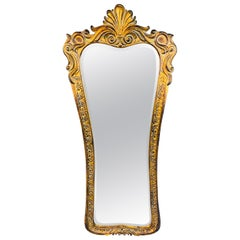 Regency Style Gilded Tall Wall or Dressing Mirror
