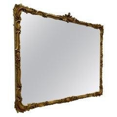 Regency Style Gilt Wall Mirror