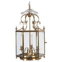 Regency Style Hexagonal Hall Lantern