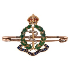 Regimental Sweetheart Brooch for The Royal Army Medical Corps