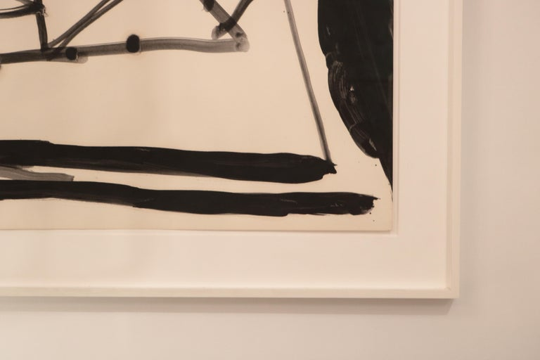 North American Robert Motherwell, Drunk with Turpentine No. 21 For Sale