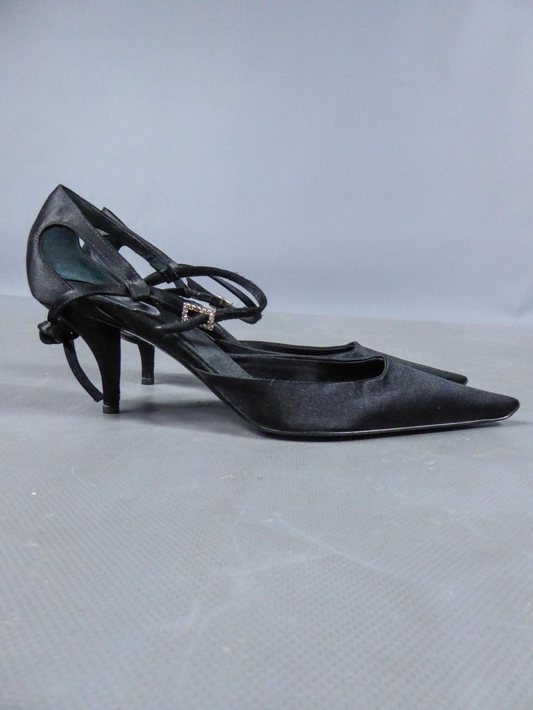 A Roger Vivier Pair of Evening Heels Shoes Circa 2000 For Sale 1