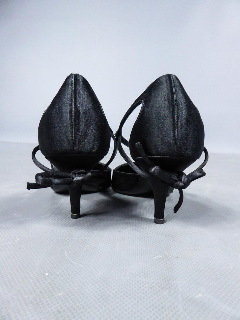 A Roger Vivier Pair of Evening Heels Shoes Circa 2000 For Sale 2