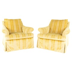 A. Rudin Contemporary Lounge Chairs, Pair