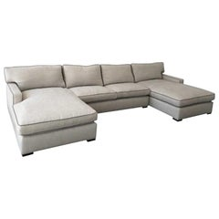 A. Rudin Three-Piece Sectional Sofa