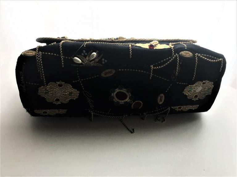 A RUNWAY PROTOTYPE of a CHANEL Jumbo denim bag  2007-2008A   For Sale 10