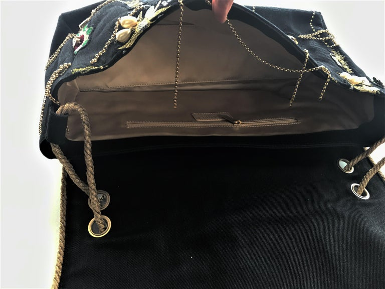 A RUNWAY PROTOTYPE of a CHANEL Jumbo denim bag  2007-2008A   For Sale 2