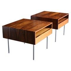 A/S Randers Møbelfabrik Rosewood Tables, circa 1960